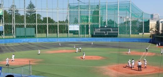 秋季高等学校野球大会「国士舘 − 実践学園」