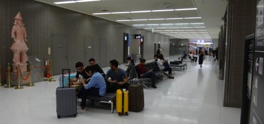 はにわ像 in 成田空港