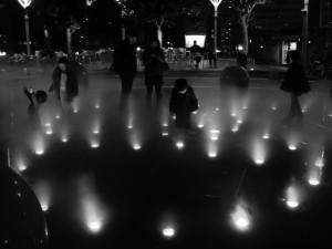 「TOKYO DOME CITY Winter Festival」(白黒)