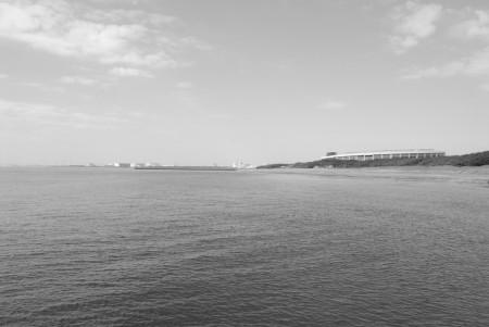 海(3)白黒
