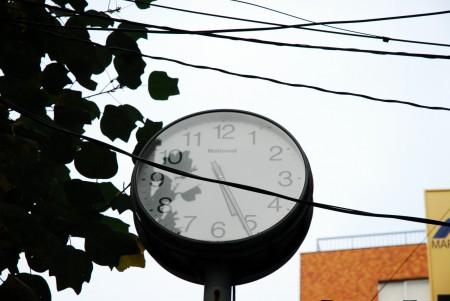 止まった時計