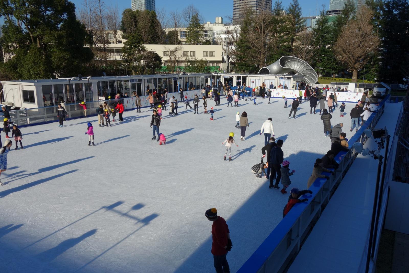 都内でのアイススケートのスポット