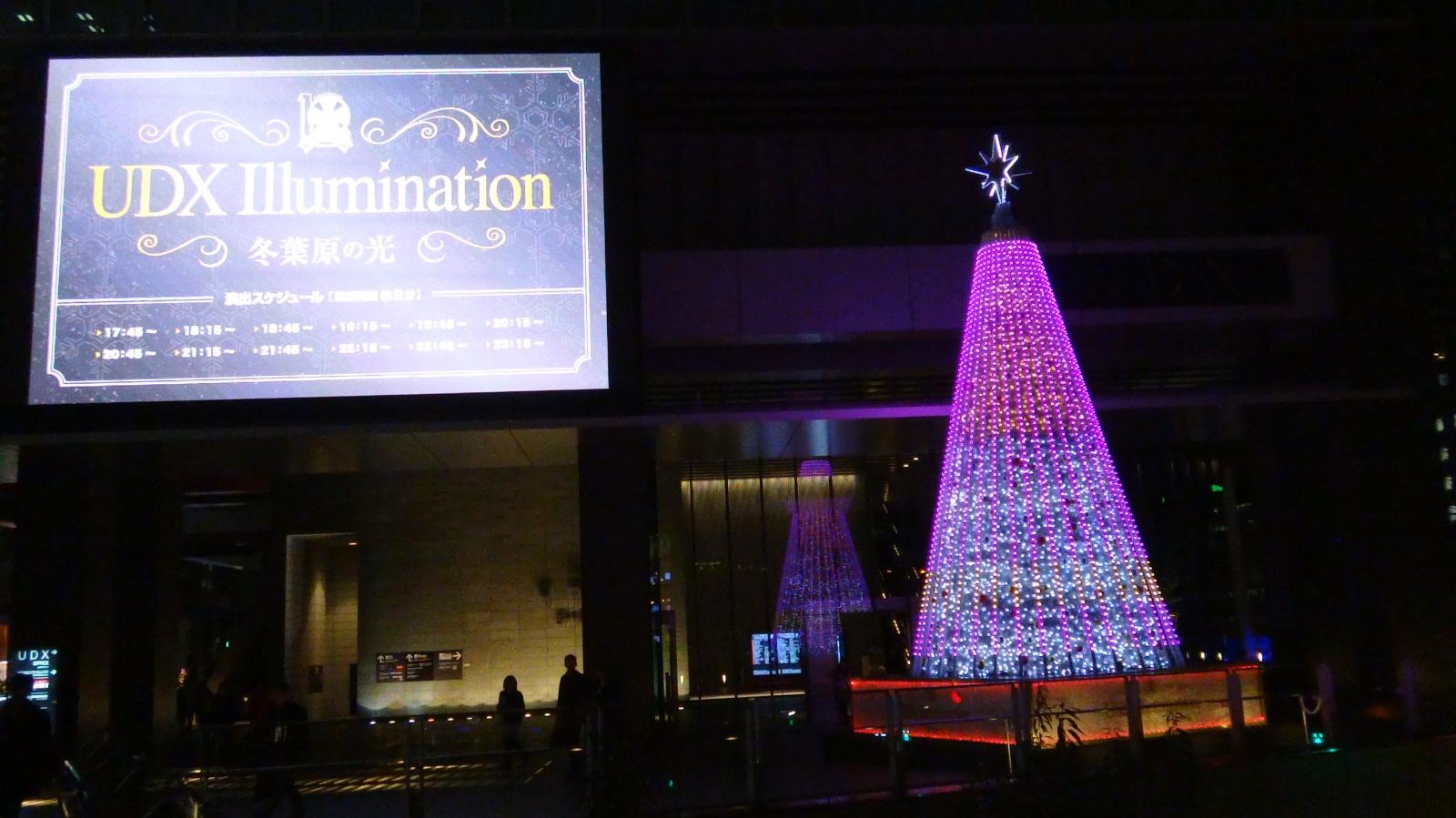 UDX Illumination~冬葉原の光り~