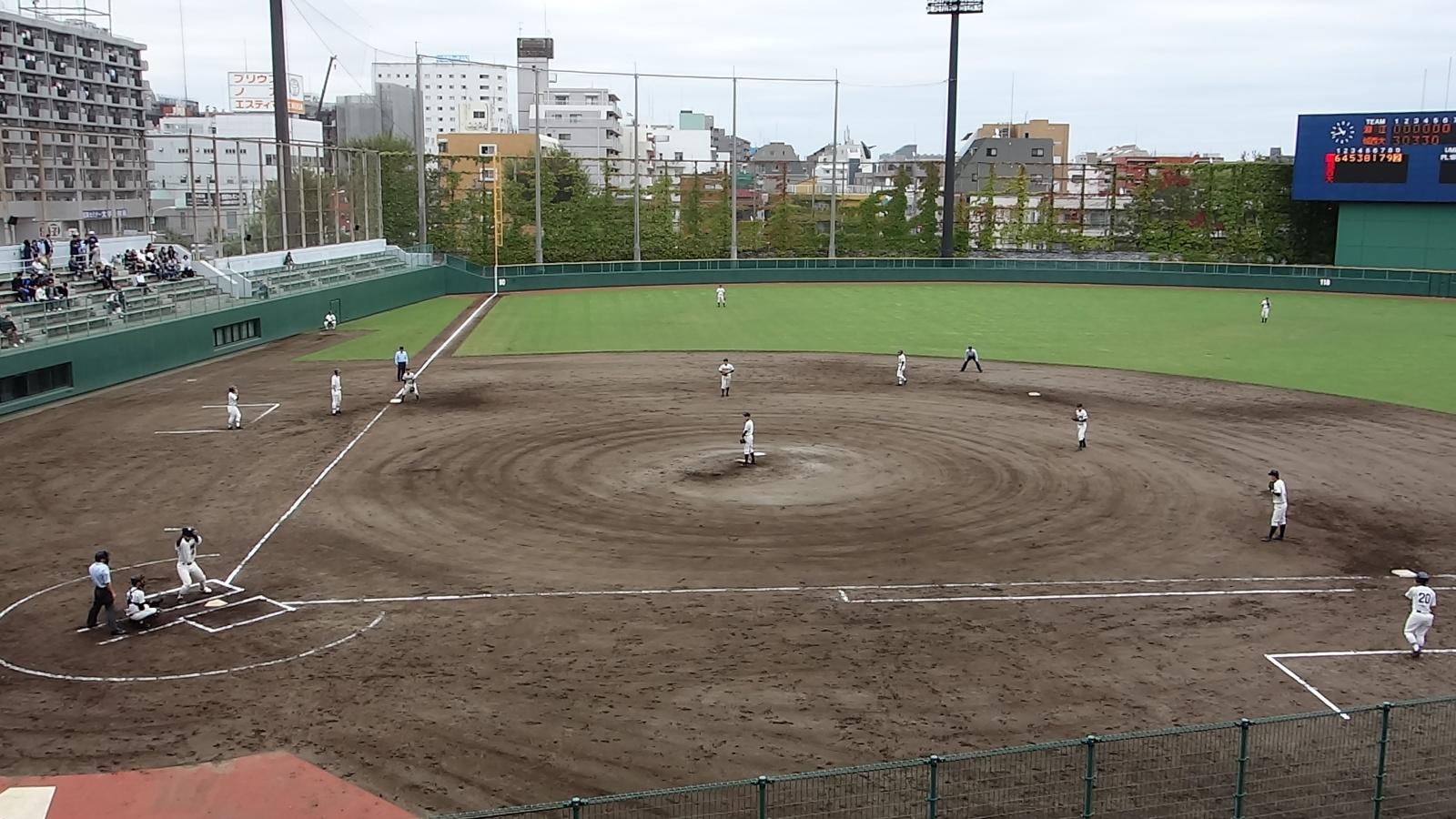 秋季東京都高等学校野球大会「淵江 - 城西大城西」