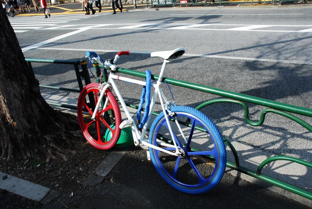 個性的な自転車(1)