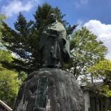 天海大僧正(慈眼大師)銅像