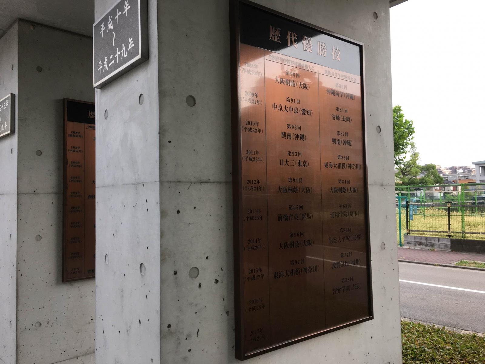 夏の甲子園2016~歴代優勝校(1)~