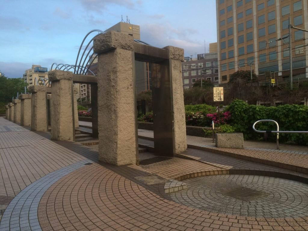 水道橋で(2)