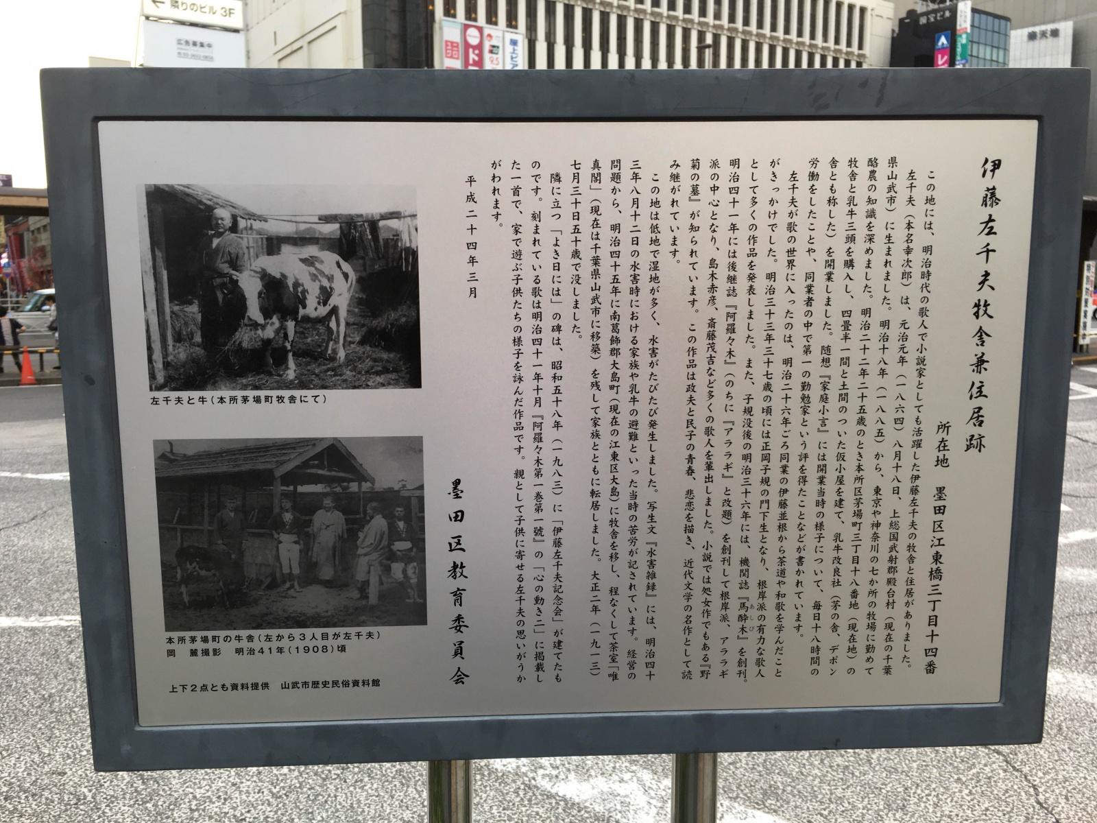 伊藤左千夫牧舎兼住居跡2