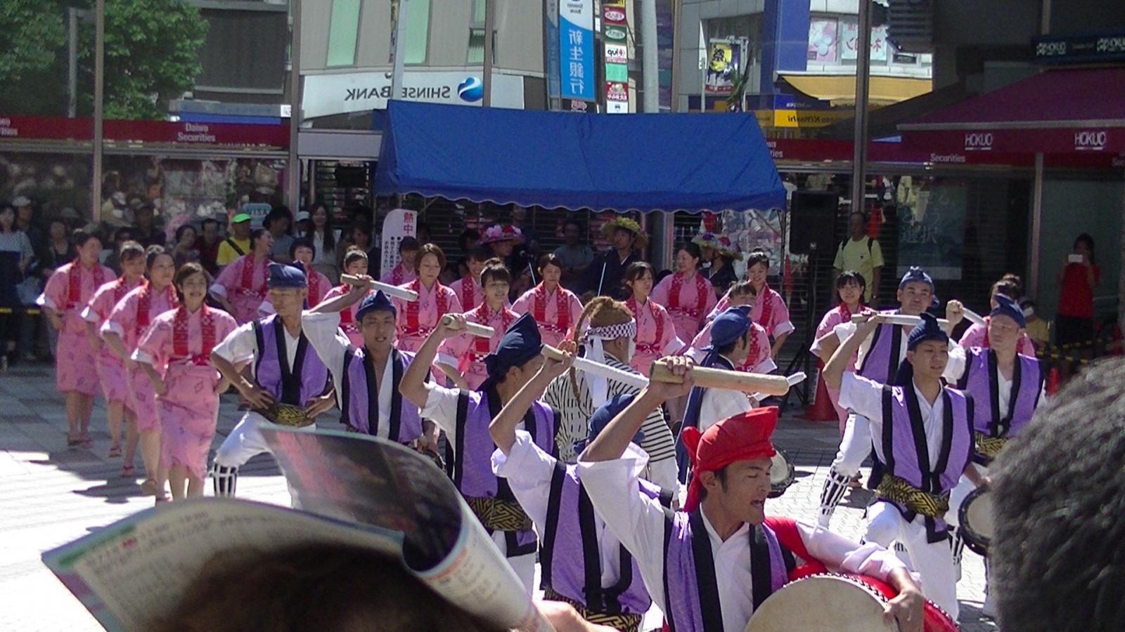 第29回フェスタまちだ2015 町田エイサー祭り