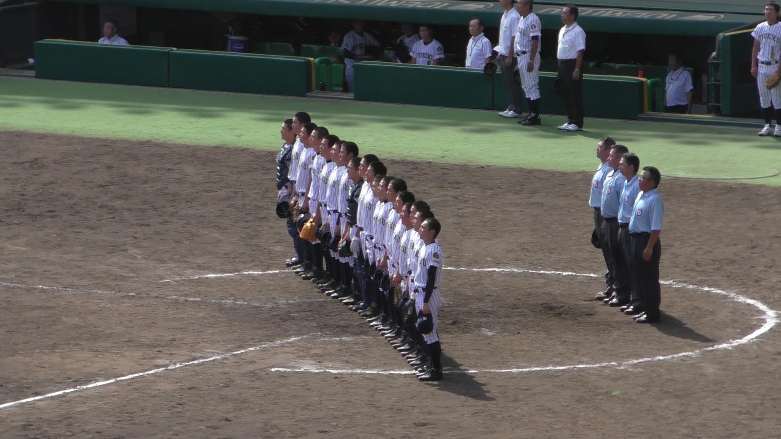 第97回全国高校野球選手権大会~第2日:第3試合「九州国際大付VS鳴門」(上)~